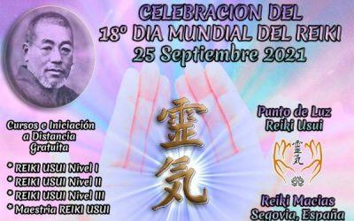 Celebración 18º Dia Mundial del Reiki